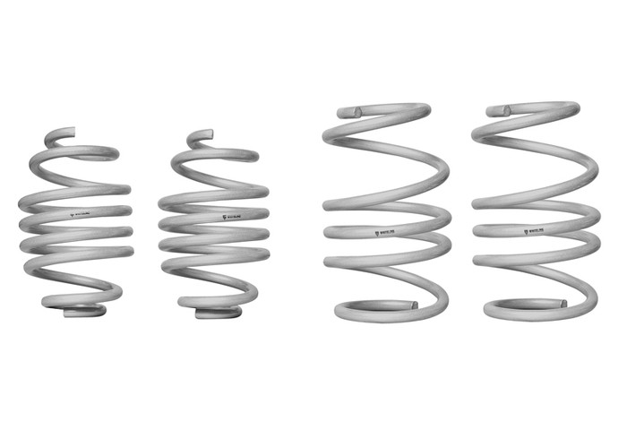 Whiteline WSK-REN003 F and R Coil Springs - lowered RENAULT CLIO III X85 INCL SPORT  2005-8/2013 4CYL-srbpower-com