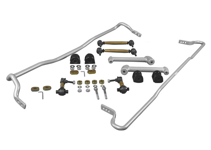 Whiteline BSK016 F and R Sway bar - vehicle kit SUBARU BRZ ZC6   7/2012-ON 4CYL-srbpower-com