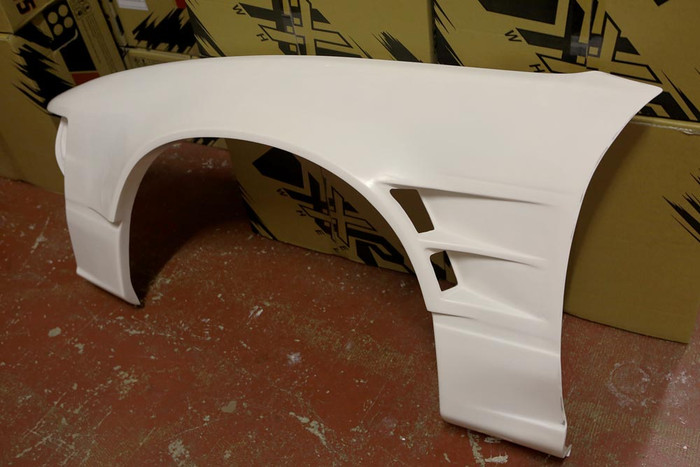 Nissan 200sx S13/180SX Type 3 +55mm Vented Front Fenders