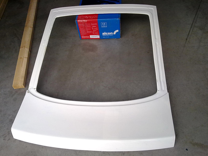 SRB POWER - S13 FIBREGLASS REAR HATCH