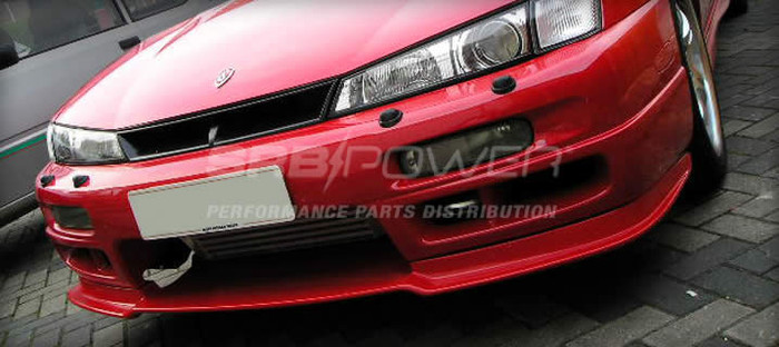SRB POWER - S14A FIBREGLASS FRONT SPLITTER TYPE 2