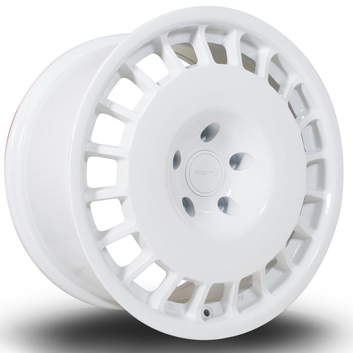 Rota D154 17x8 ET35 4x100 White srbpower.com