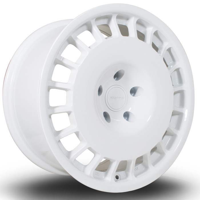 Rota D154 17x8.5 ET38 5x120 White srbpower.com