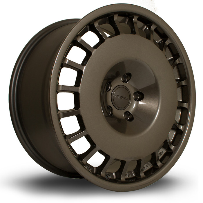 Rota D154 18x8.5 ET35 4x108 Gunmetal srbpower.com