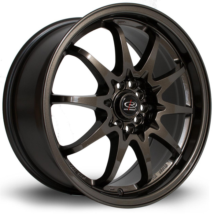 Rota Fight 17x8 ET48 5x100/114 Gunmetal srbpower.com