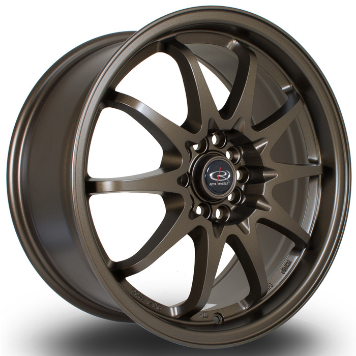 Rota Fight 17x8 ET48 5x100/114 MBronze3 srbpower.com