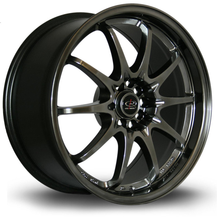 Rota Fight 18x8.5 ET30 5x100/114 HBlack