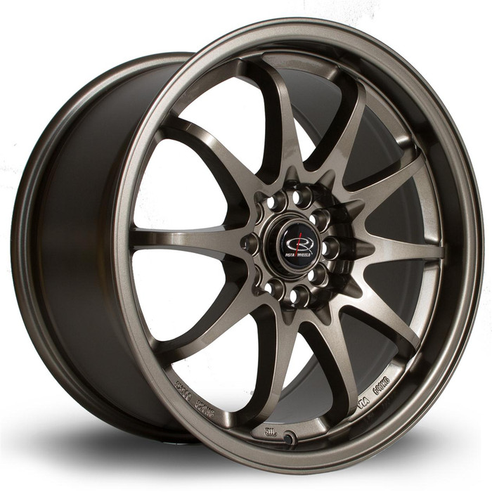 Rota Fight 17x9 ET50 5x100/114 Bronze srbpower.com