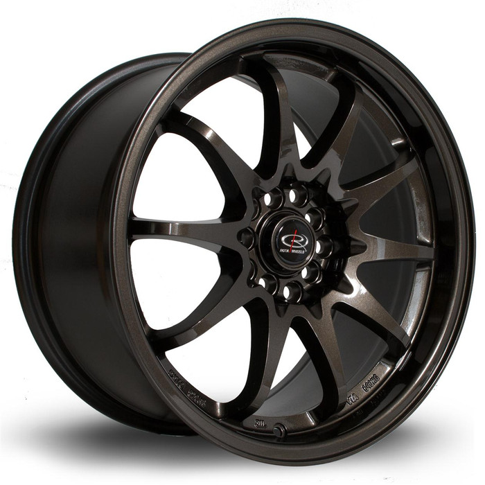 Rota Fight 17x9 ET50 5x100/114 Gunmetal srbpower.com