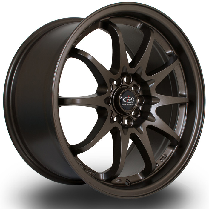 Rota Fight 17x9 ET50 5x100/114 MBronze3 srbpower.com