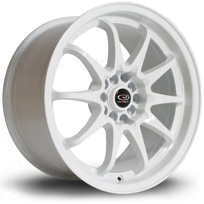 Rota Fight 17x9 ET50 5x100/114 White srbpower.com