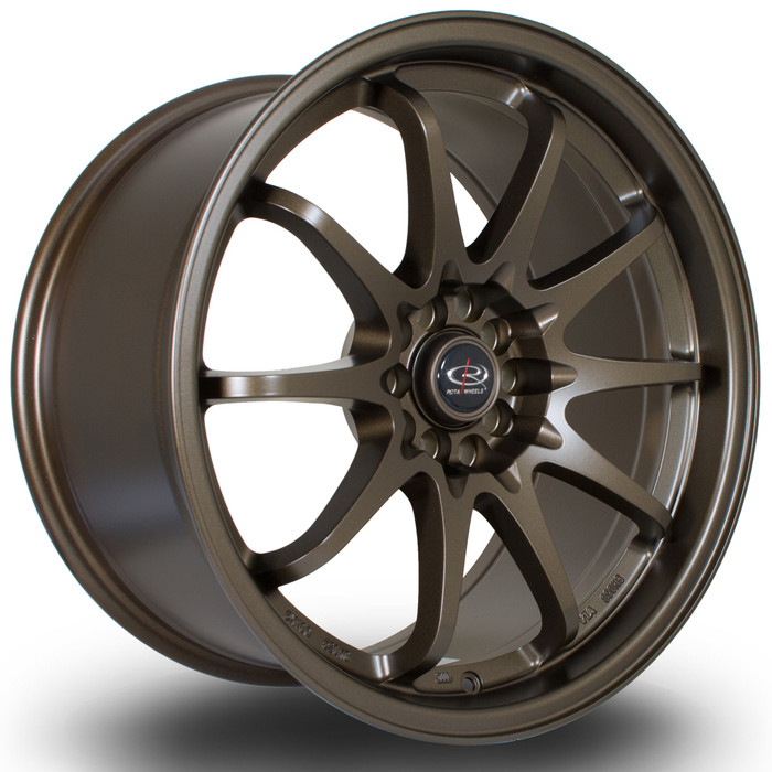 Rota Fight 18x9.5 ET35 5x100/114 MBronze3