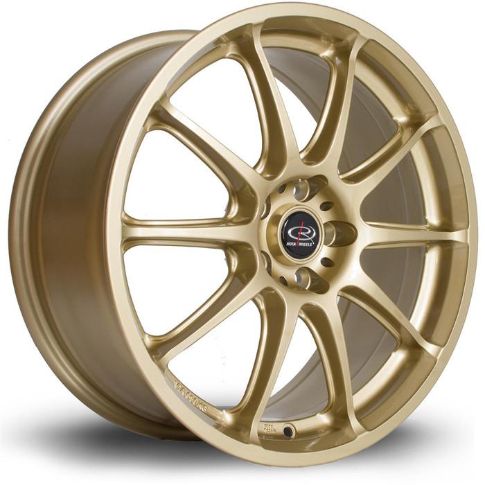 Rota Gra 17x7.5 ET48 5x100 Gold srbpower.com