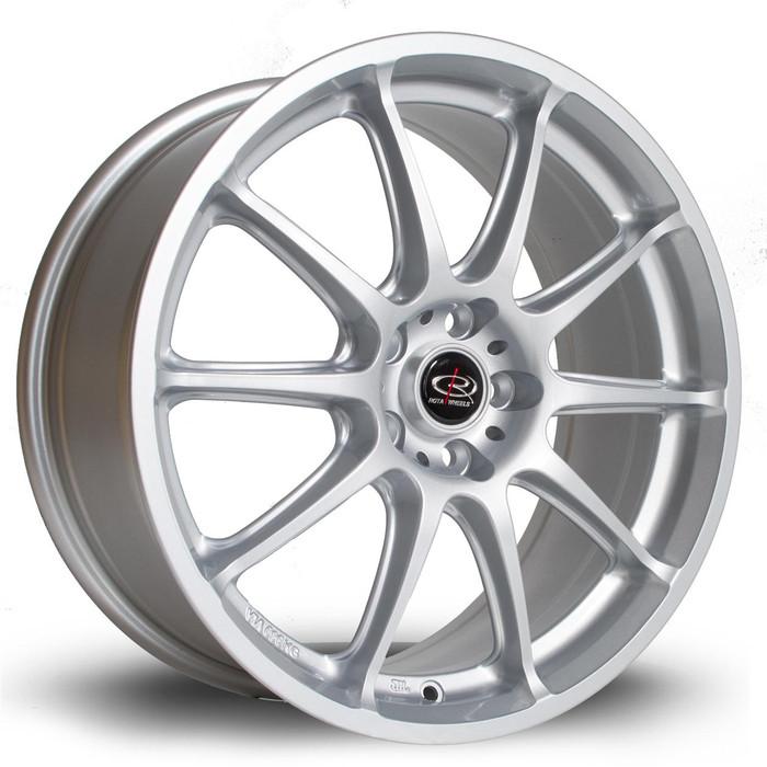 Rota Gra 17x7.5 ET48 5x100 Silver srbpower.com
