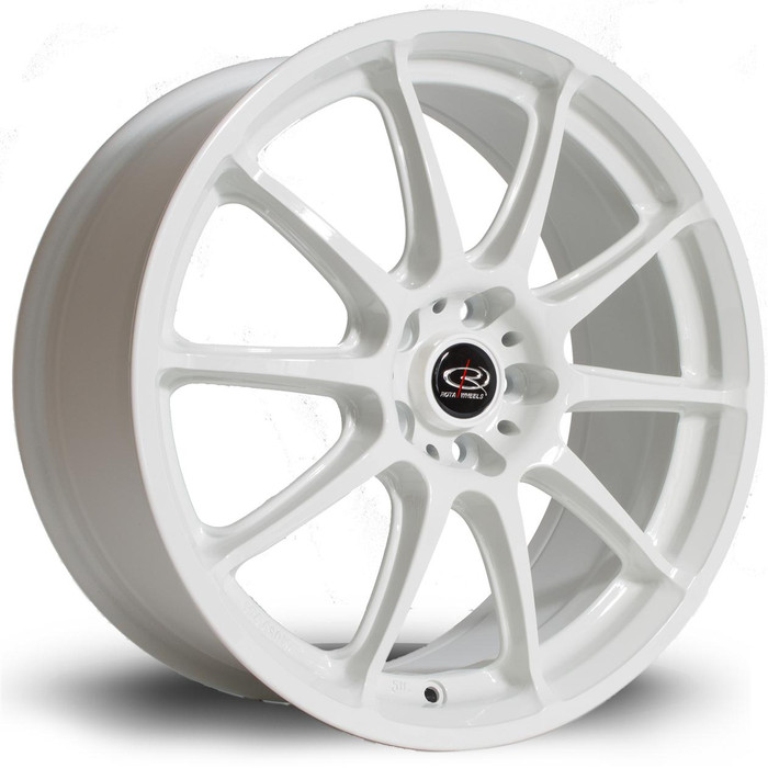 Rota Gra 17x7.5 ET48 5x100 White srbpower.com