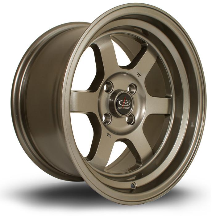 Rota Grid-V 15x8 ET0 4x108 Bronze srbpower.com