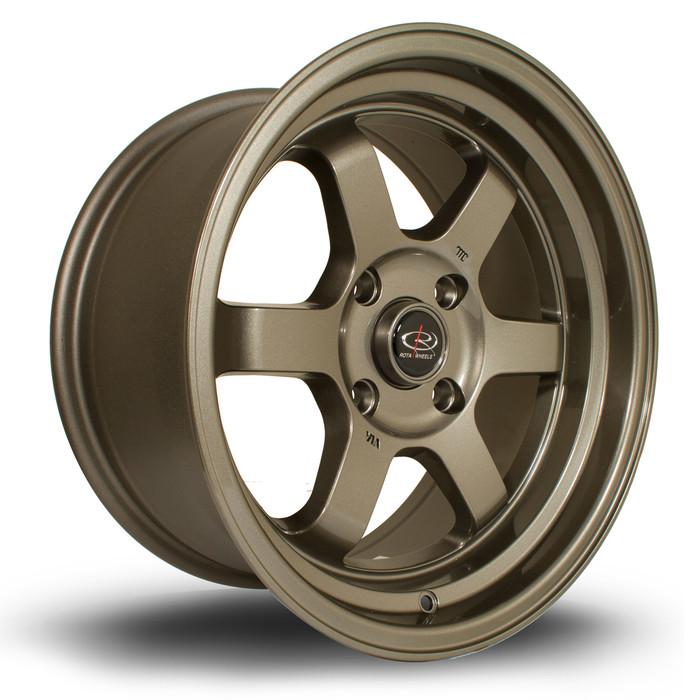 Rota Grid-V 16x8 ET20 5x100 Bronze srbpower.com