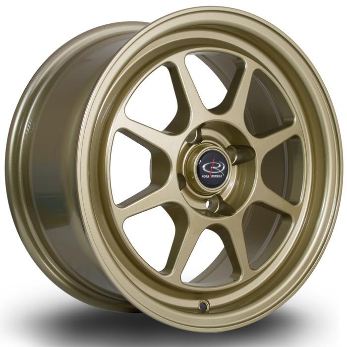 Rota Spec8 15x7 ET35 4x100 Gold srbpower.com