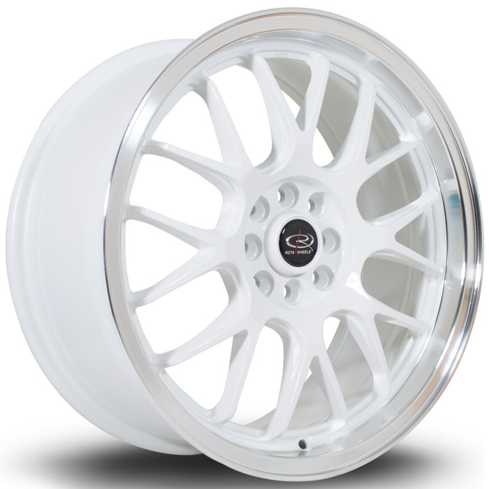 Rota MXR 17x7.5 ET40 4x100/108 RLWhite srbpower.com