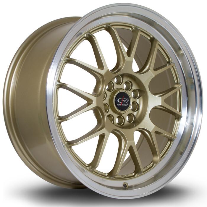 Rota MXR 18x8.5 ET44 5x100/114 RLGold srbpower.com