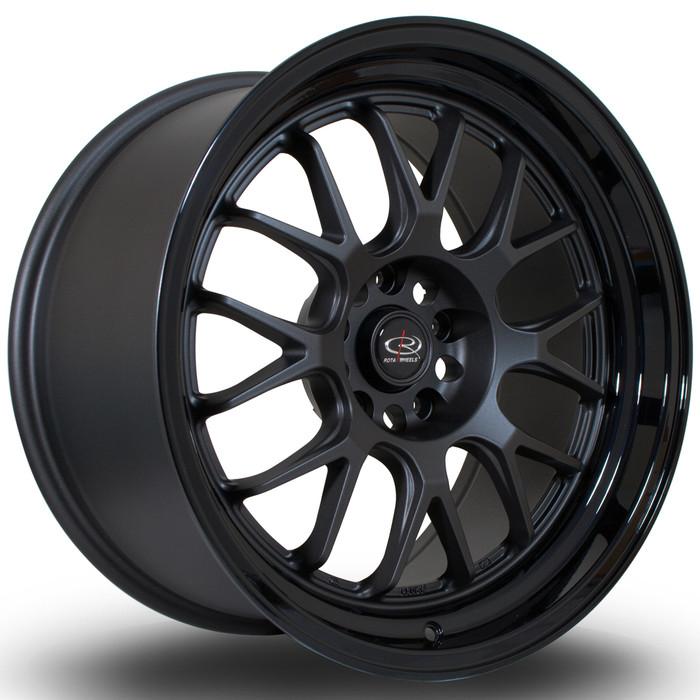 Rota MXR 18x9.5 ET45 5x120 FGMBlack srbpower.com