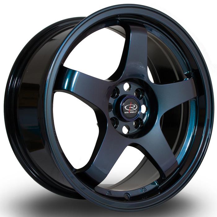Rota GTR 17x7.5 ET35 4x100 NeoChrome srbpower.com