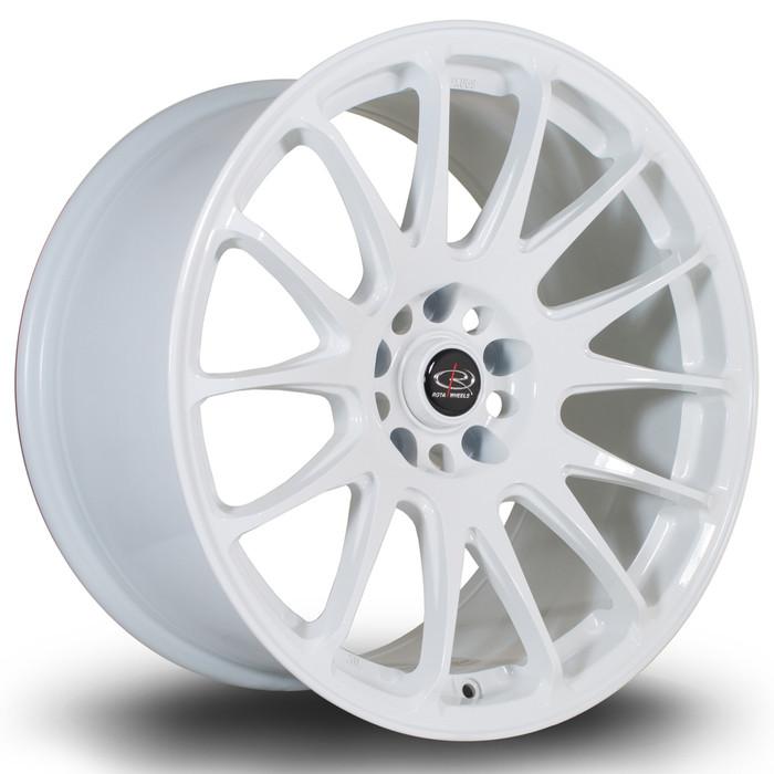 Rota Reeve 18x9.5 ET30 5x114 White srbpower.com
