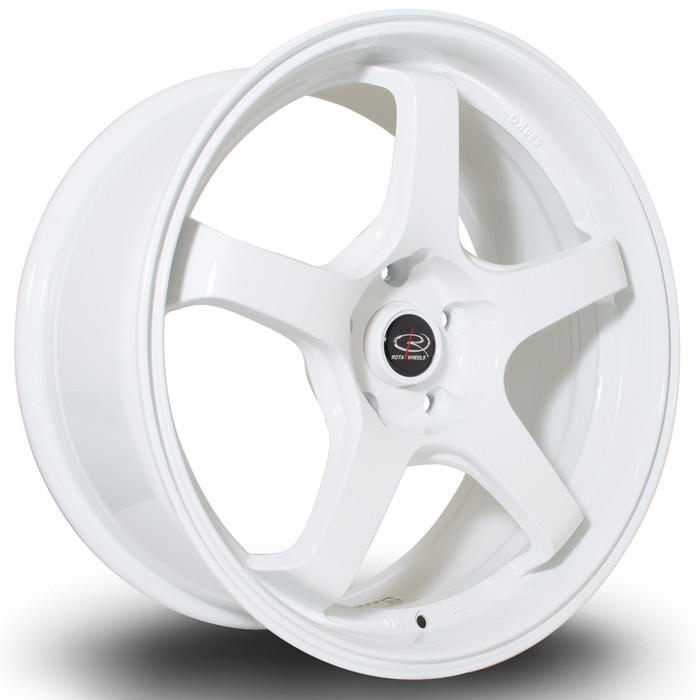 Rota RT5 18x8.5 ET30 5x120 White srbpower.com