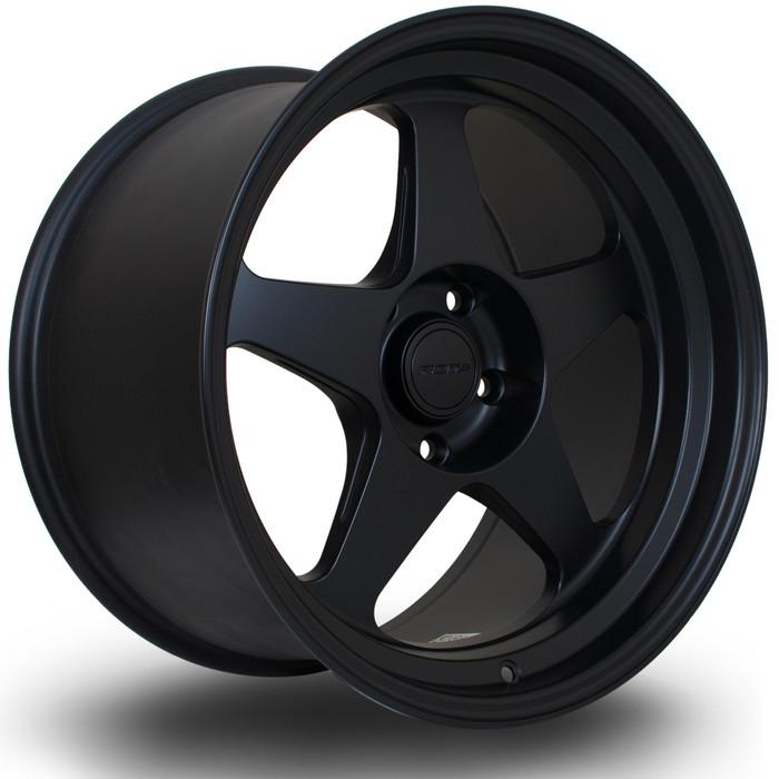 Rota Slip 18x10.5 ET22 5x120 FBlack srbpower.com
