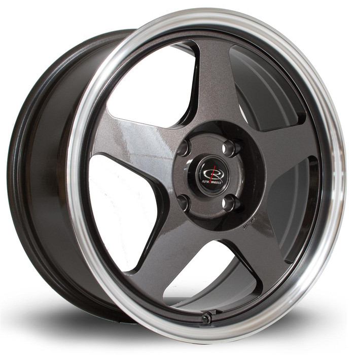 Rota Slip 17x7.5 ET45 4x100 RLGunmetal srbpower.com