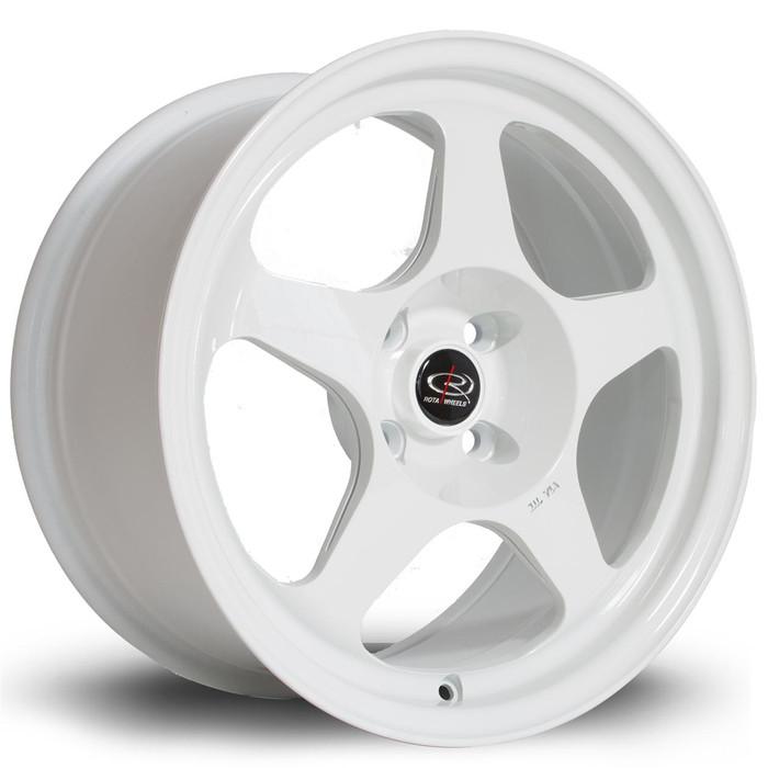 Rota Slip 16x8 ET34 4x100 White srbpower.com