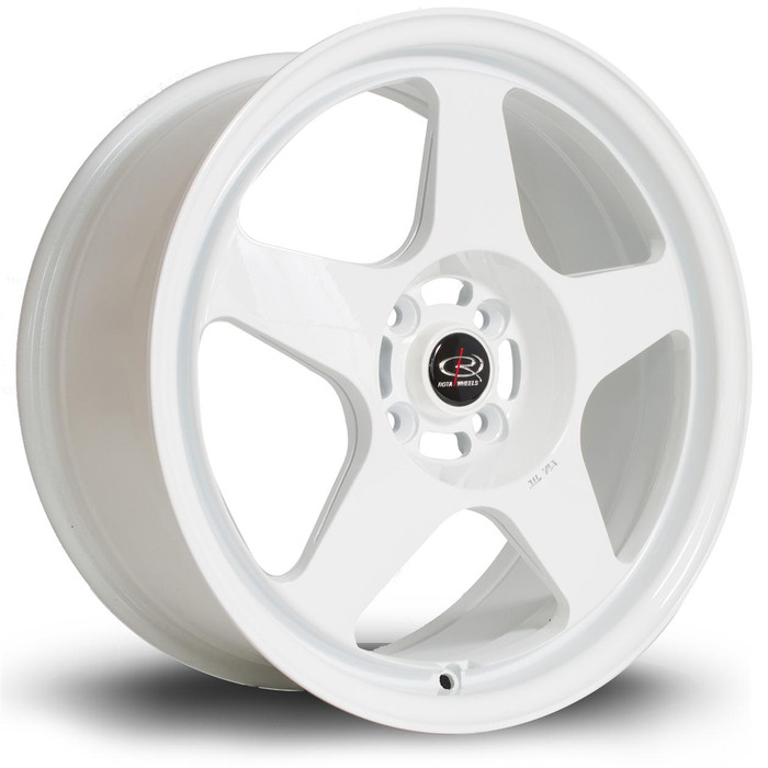 Rota Slip 17x8 ET48 5x114 White srbpower.com