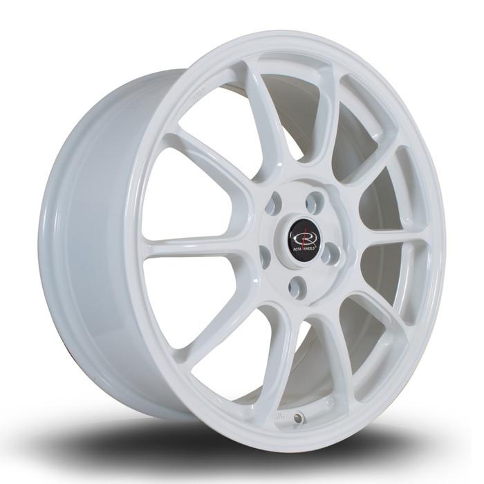 Rota SS10 17x7.5 ET50 5x108 White srbpower.com
