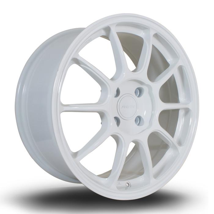 Rota SS10 17x8 ET42 4x108 White srbpower.com