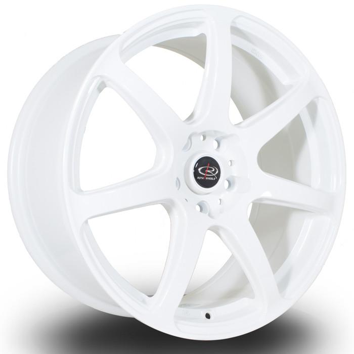 Rota ProR 18x8.5 ET45 5x112 White srbpower.com