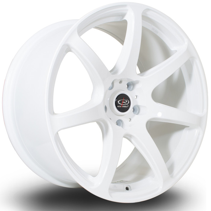 Rota ProR 18x9.5 ET30 5x114 White