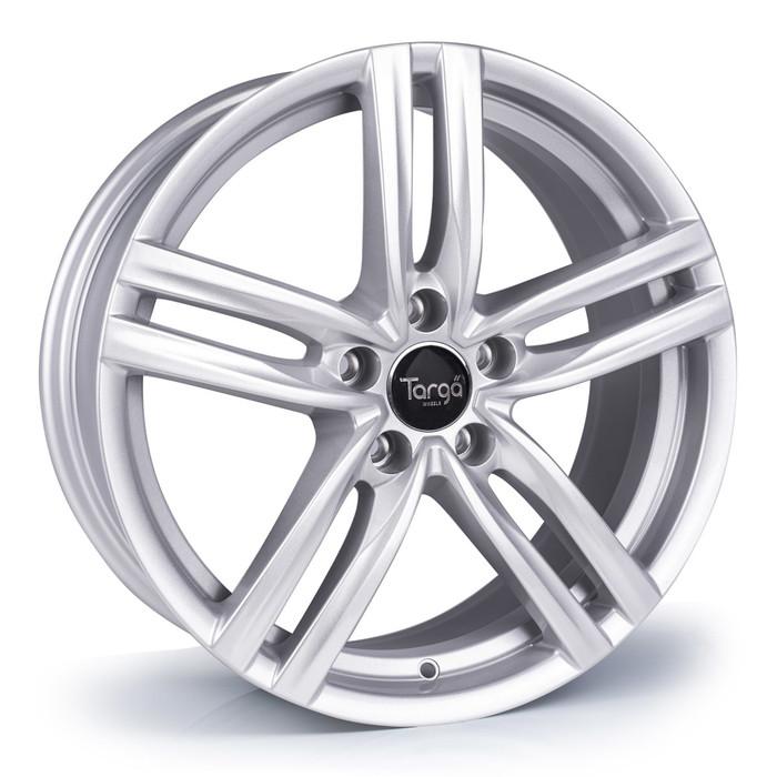 18x8.0 Targa TG4 5x112 ET42 CB73.1mm - Sparkle silver - max load 690kg
