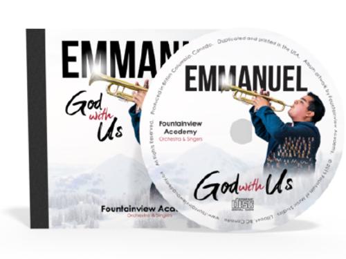 Emmanuel God with Us CD (new)