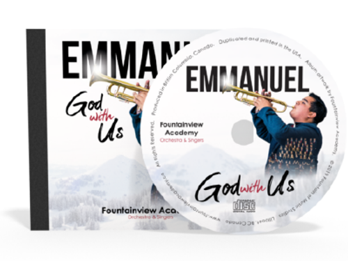 Emmanuel God with Us CD (new)