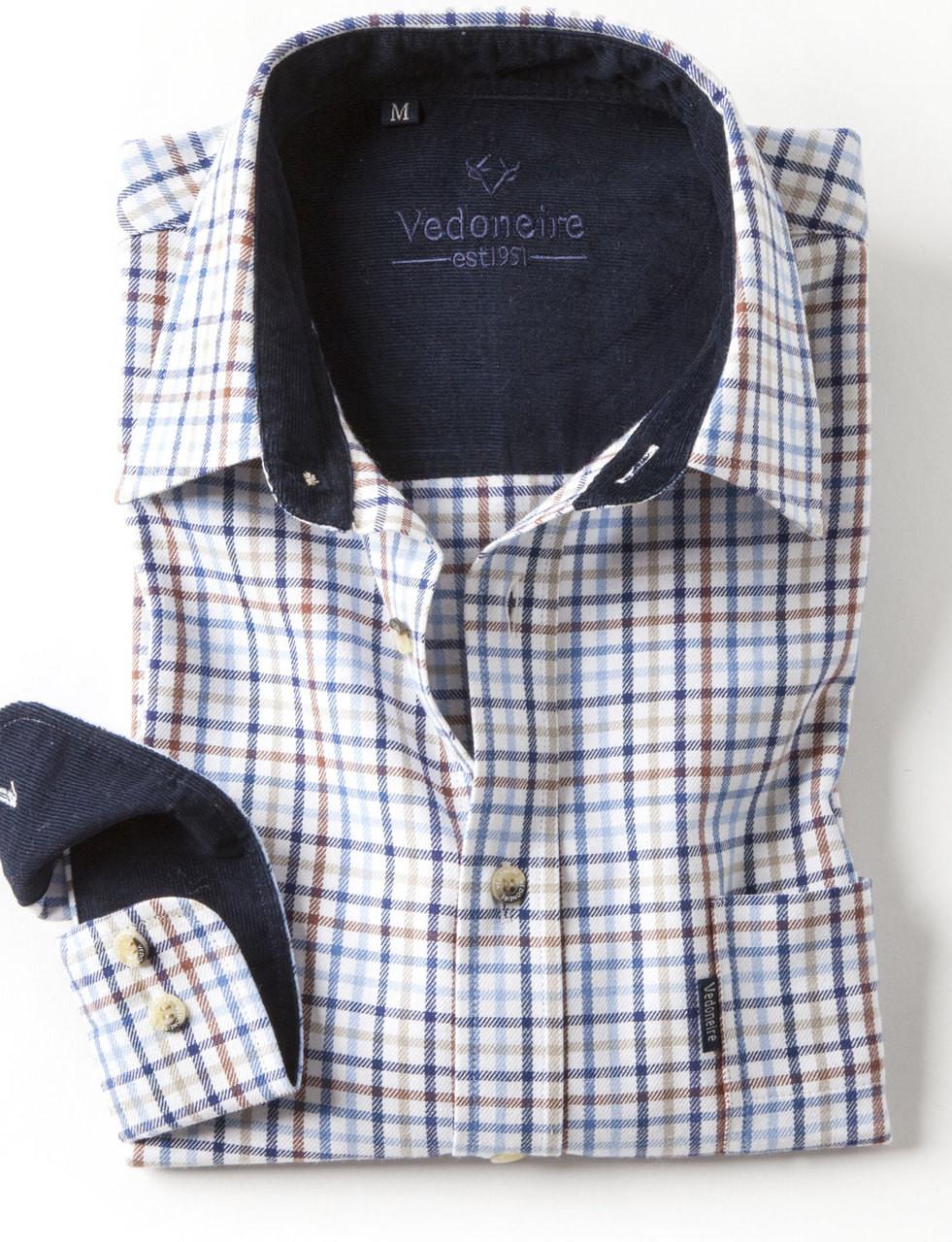 51a7d73c Mens Brushed Cotton Shirt Multi Tattersall