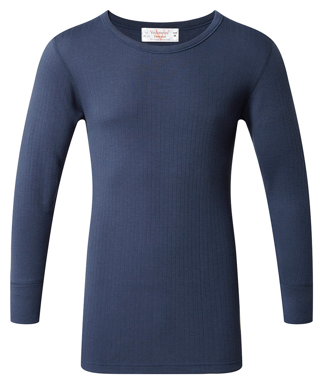 best quality for new lifestyle new style of 2019 Mens Thermal Long Sleeve Winter Top x 1 (1856) Blue by Vedoneire of Ireland