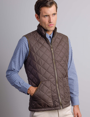 Best In Town Heavy Duty Quilted Mens Padded Gilet Bodywarmer Sleeveless Work Jacket Coat