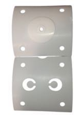 ADI J-Series Single Head Diaphragm Sampling Pump Rebuild Kit