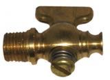 "Brass Petcock 1/4"" NPT with T handle"
