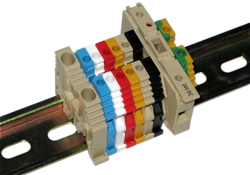 Feed-Through Din Rail Terminal Blocks