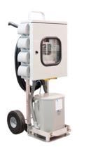 Temporary Mobile Power Distribution Cart