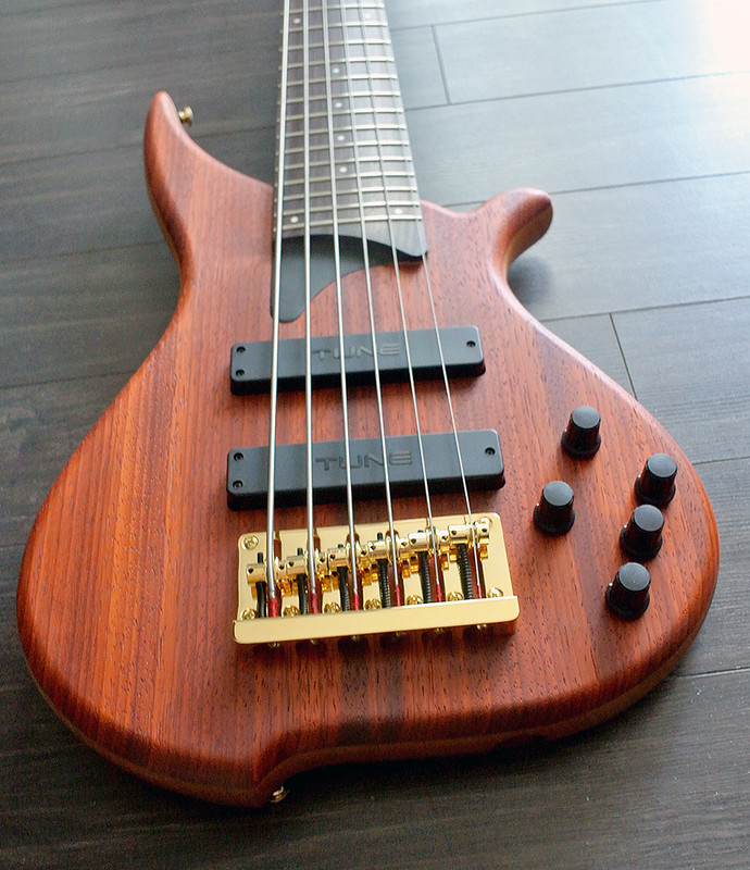 TUNE TWB63 PD - 6 String  Bass - Padauk Top