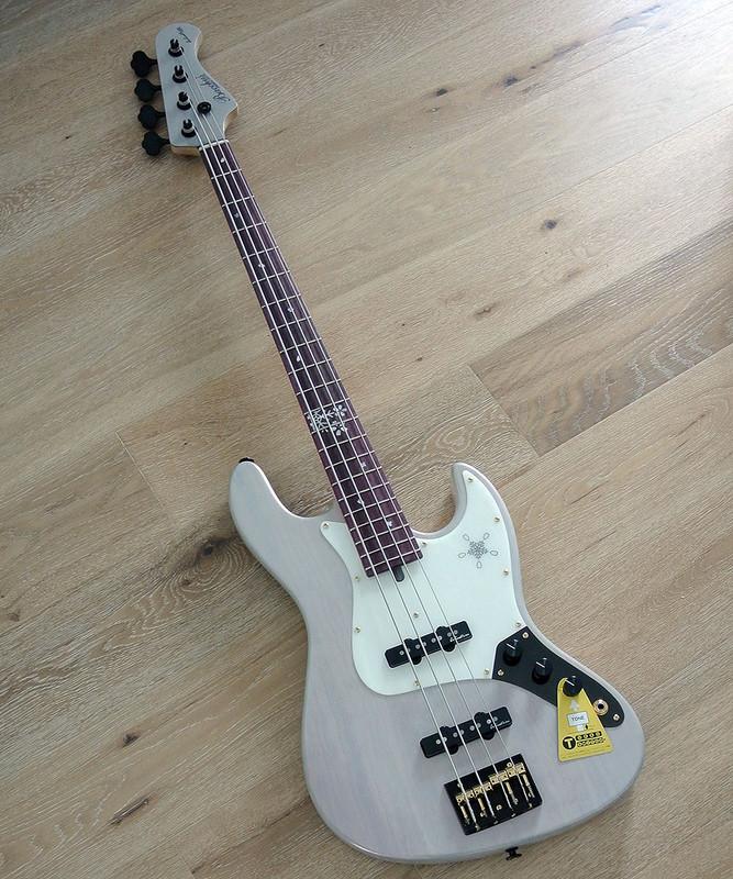 Bacchus Handmade Japan Series - WOODLINE 417 / EWC - FUYUZAKURA '18 - Limited Edition 4 String Bass