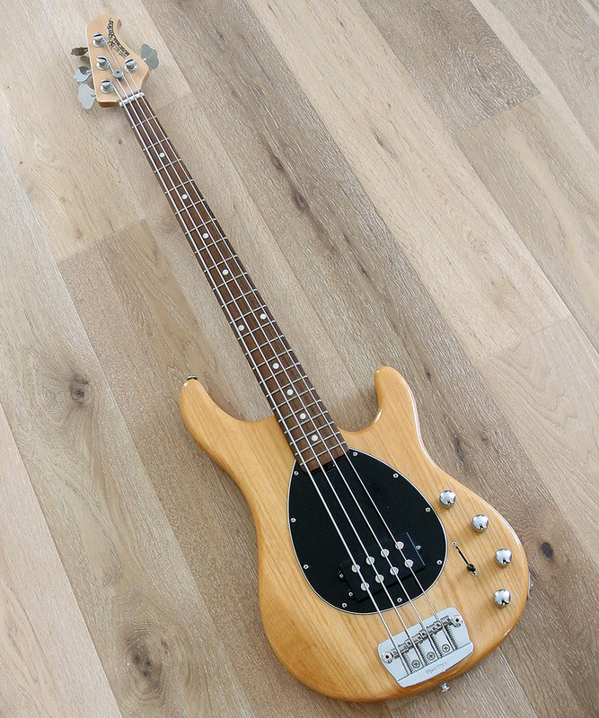 Ernie Ball Music Man Sterling H 4-String Bass in Natural Finish  - Mint Condition