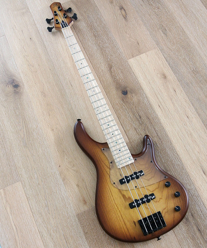STR Sierra LS40 - 4 String Bass Guitar With Aguilar Pickups